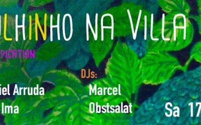 Wir spielen am Samstag bei Bärulhinho na Villa: Berliner Tropication!